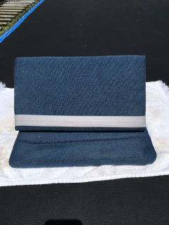 iPad tablet or book stand blue
