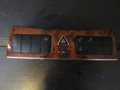 Purchase WOOD GRAIN DASH SWITCH HAZARD LOCK ESP CONTROL MERCEDES CLK 08 motorcycle in Los Angeles, California, United States, for US $85.00