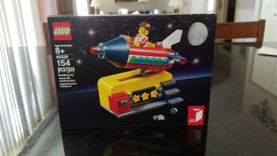 Lego #40335 Space Rocket Ride NEW