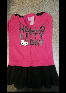 Girls Hello Kitty dress (6-6x)