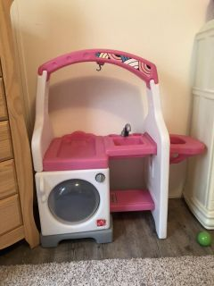 Step 2 washer/sink/changing table/high chair