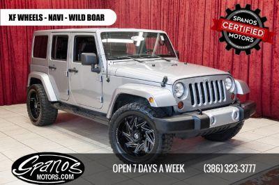 2013 Jeep Wrangler Unlimited Sahara (Gray)