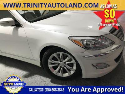 2013 Hyundai Genesis 3.8L (Casablanca White)