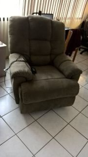 Recliner chair, electric