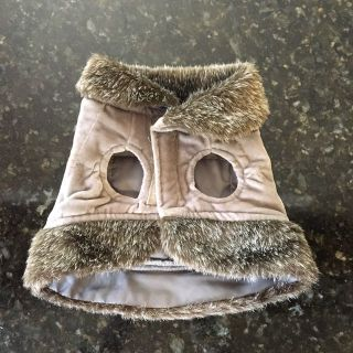 Pet jacket, Small, Velcro opening, Excellent Condition
