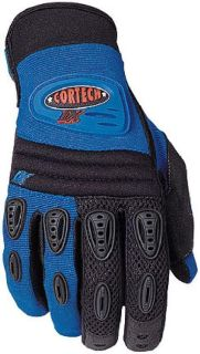 Purchase Youth Blue Cortech DX Motorcycle Riding Glove L Large motorcycle in Ashton, Illinois, US, for US $17.99