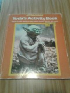 vintage star wars activity book