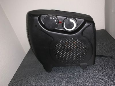 Portable fan and heater
