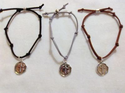 New Adjustable Bracelets with Silver Charm $5 each
