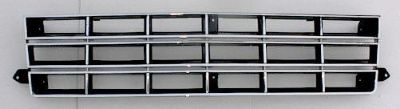 Purchase CHROME blk GRILLE SET 83-90 S10 Pickup S-10 Blazer 4X4 motorcycle in Saint Paul, Minnesota, US, for US $95.00
