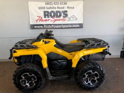 2012 Can-Am Outlander 800R XT Utility ATVs Roca, NE