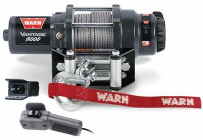 Purchase Warn 89030 Vantage ATV UTV Quad Winch 3000 Lb 50' 3/16 Cable Roller Fairlead motorcycle in Galion, Ohio, US, for US $289.99