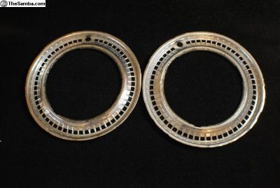 "pair of hard to find 15"" beauty rings"
