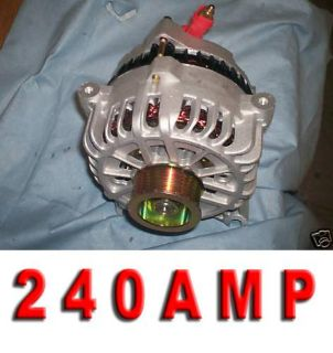 Purchase FORD Mustang GT HIGH AMP Alternator 05 06 07 08 09 4.6L Clutch Pulley Generator motorcycle in Porter Ranch, California, US, for US $180.28