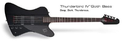 $250 OBO Epiphone Thunderbird Goth Bass