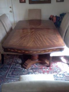 Dining table set w 6 chairs