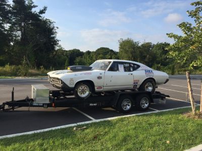 69 Chevelle and Trailer