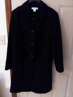 Coat, button up winter coat