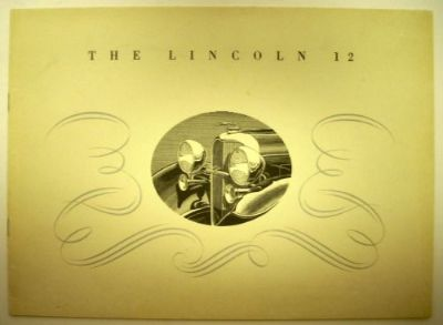 Purchase 1932 Lincoln V-12 Sales Brochure ORIGINAL Roadster Sedan Cuope Brougham Specs motorcycle in Holts Summit, Missouri, United States, for US $60.32