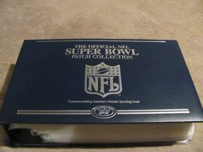 NFL SUPERBOWL PATCH COLLECTION