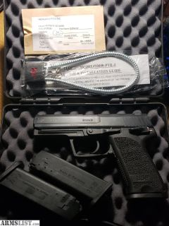 For Sale/Trade: HK USP 9 Variant 1 - Trijicon - 3 mags