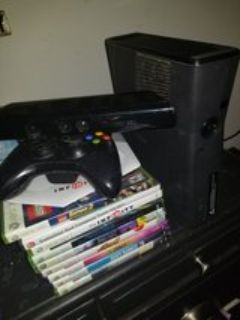 Xbox 360 with extras