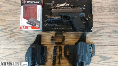For Sale: TLR-1 HL and 2 Bravo Concealment holsters