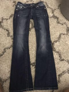 Girls Miss Me jeans, size 23