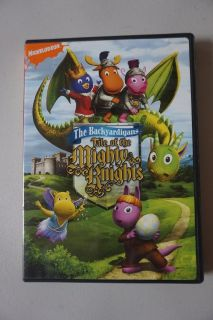 Nick Jr. The Backyardigans Tale of the Mighty Knights DVD Movie