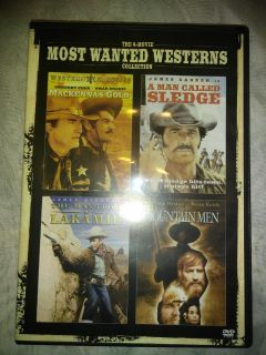Most Wanted Westerns...The 4 movie collection