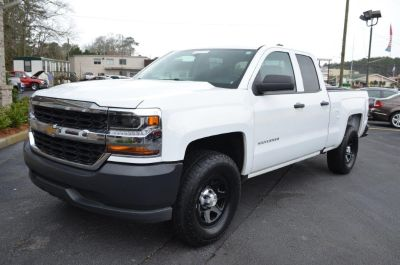 2016 Chevrolet Silverado 1500 W/T (White)