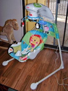 $40, Fisher-Price Discover n Grow Cradle n Swing