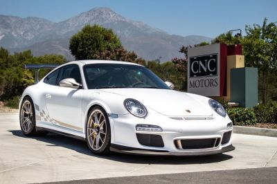 Dealer Inventory CNC Motors: 2011 GT3 RS In Carrera White w/ White Gold Contrast!