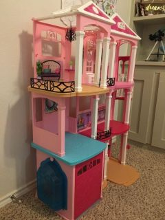 Barbie Dream House and accessories