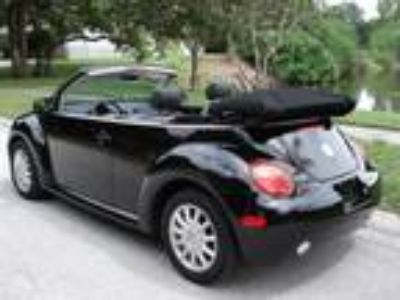 2005 Volkswagen Beetle GLS Black on Black