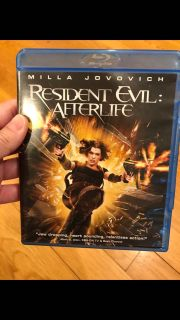 Resident evil afterlife blue ray