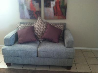 $350, Very nice love seat. Brand new condition