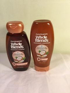 Whole blends coconut oil shampoo and conditioner set