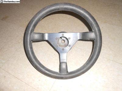 Porsche 911Momo Steering wheel and adapter 343mm