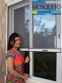 Mosquito Net Roller for Windows - Mosquito Net Manufacturers Gujarat - Phiferindia