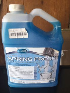 Fresh Water System Cleaner & Deodorizer NEW