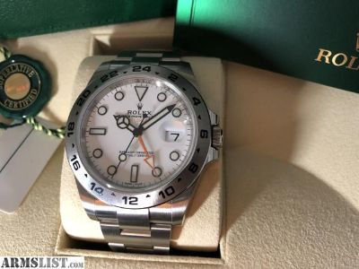 For Sale/Trade: 2018 Rolex Explorer II