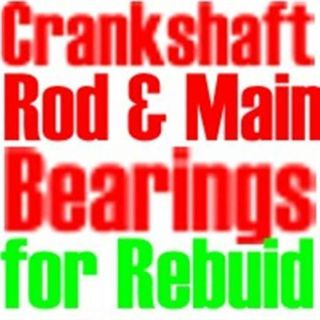 Find Mains & 8 Rod bearings for Ford 289,302 1962-1999 .020 motorcycle in Duluth, Minnesota, United States, for US $39.49