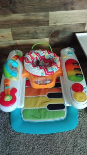 Fisher Price Step n Play piano activity center walker