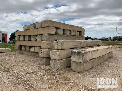 Lot of 20' LoPro Concrete Barriers