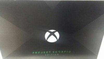 Xbox One X Project Scorpio Limited Edition - REDUCED