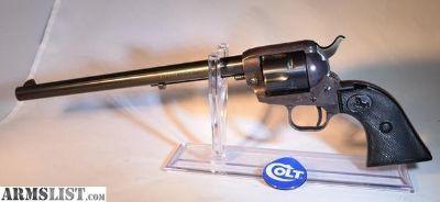 For Sale: Colt Single Action Buntline Scout 22 Magnum C-1959