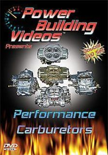 Buy Power Building Videos D-CARB Performance Carburetors DVD motorcycle in Delaware, Ohio, United States, for US $29.99