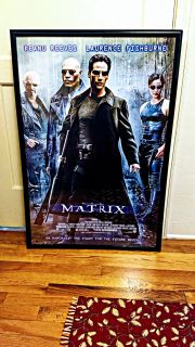 2 New Original Framed Movie Posters