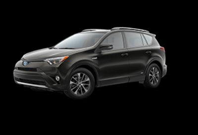 2018 Toyota RAV4 XLE Hybrid AWD-i (Black Sand Pearl)